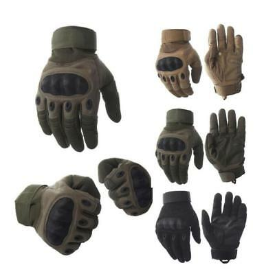Carbon Fiber Gloves For Outdoor Activities Tactical Gloves Military Full Finger