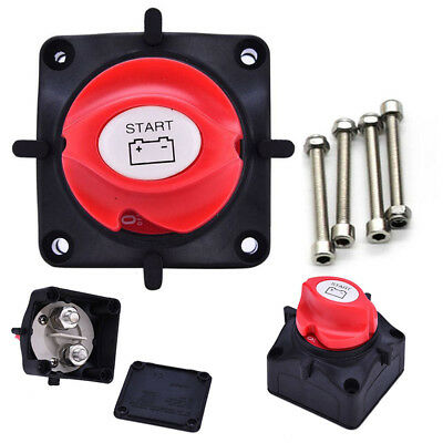 Battery Master Kill Switch Isolator Disconnect Cut Off 12V, 24V, 48V Dc Car Boat
