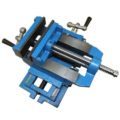 6'' Cross Slide Drill Press Vise Metal Milling X-Y Clamp Machine Heavy Duty