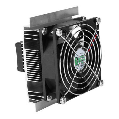 12V 6A Thermoelectric Peltier Refrigeration Cooling Fan Cooler System Heatsink O