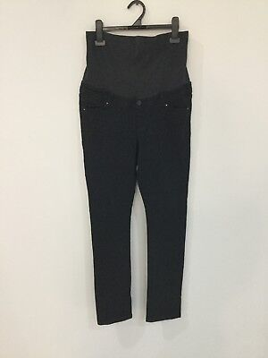 Super Comfy JeansWest Maternity Skinny Jeans High Rise Black Size 10