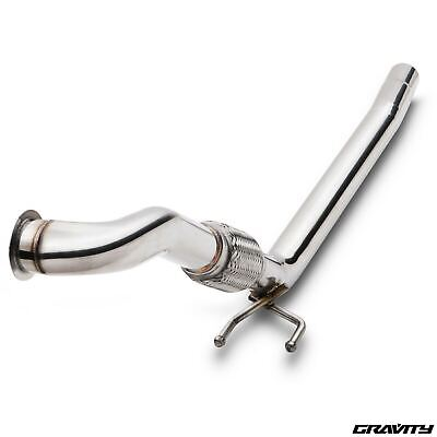 Stainless De Cat Decat Exhaust Front Down Pipe For Skoda Octavia 1.9 2.0 Tdi 04+