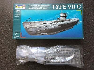 Revell 05093 - 1/350 Deutsches U-Boot Type Vii C