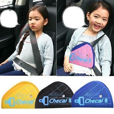 New Secure Fit Seat Belt Thickening Baby Car Adjusting Device Child W2YN