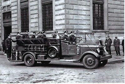 New York City Police Dept Emergency Service Riot Squad 4X6 Black & White Photo