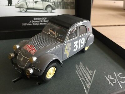 Scalextric Passion Citroen 2CV SP004 Limited 1:32 f. Carrera Ninco SCX NEU OVP