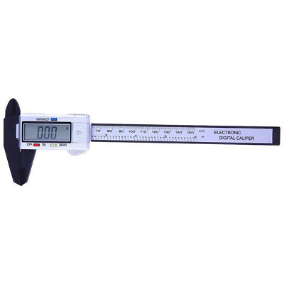 "6"" 150mm Plastic Claw Lcd Electronic Digital Vernier Caliper Micrometer Gauge"