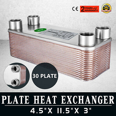 OUTDOOR WOOD BOILER Plate Heat Exchanger 5x12 30 Plates 1\