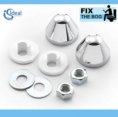 Ideal Standard EV04767 In-Wall Frame Pan Mounting Nuts and Fittings Pack