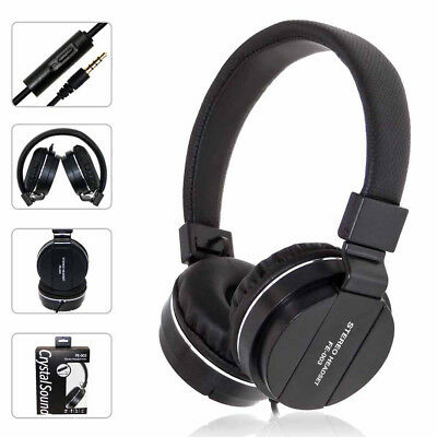 FE-003 Stereo Headset Wired Headphones With Microphone Control Crystal Sound AUX