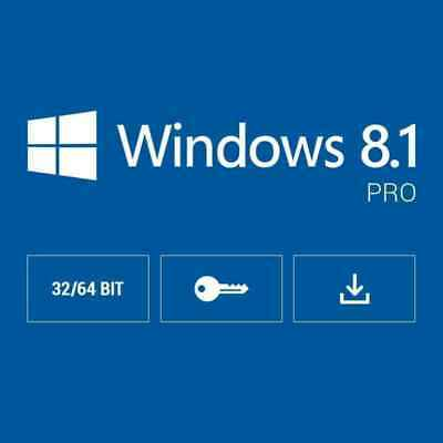 Windows 8.1 Pro 32 / 64 Bit Ms Win 10 Genuine License Original Activation Key