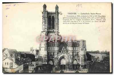 CPA Troyes Cathedrale Saint Pierre