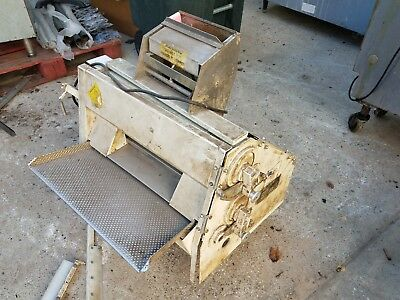 Used Anets SDR-21 Double Pass Dough Roller Sheeter Anet's FOR PARTS