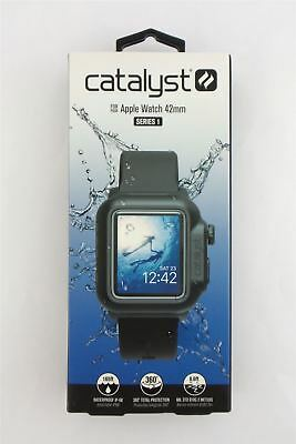 Catalyst Waterproof Case for Apple Watch 42mm Series 1 Stealth Black 47131BBR