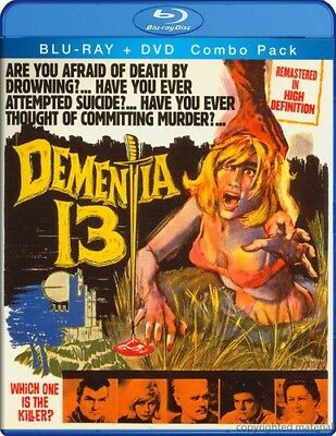 Dementia 13 [2 Discs] [Blu-ray/DVD] (Blu-ray Used Like New) WS/BLU-RAY