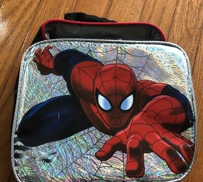 Spiderman Lunch Box Reflective Lunchbox