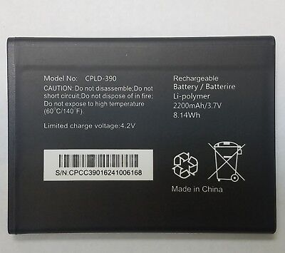 Replacement Battery for Coolpad Catalyst 3622A CPLD-390 2200mAh