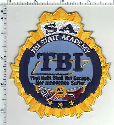 Tennessee Bureau of Investigation Academy Shoulder Patch from the 1980's