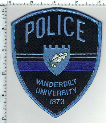 Vanderbilt University Police (Tennessee) Shoulder Patch from the 1980's