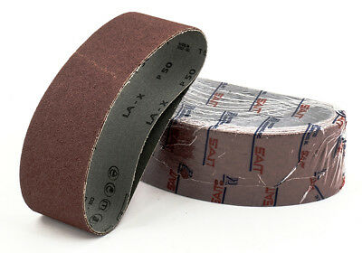 United Abrasives Aluminum Oxide Belts | 10 Pc | 2 X 48 120 Grit 1AX