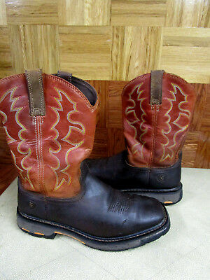 49cdefaaebc ARIAT MEN'S WORKHOG Wide Square Toe 12