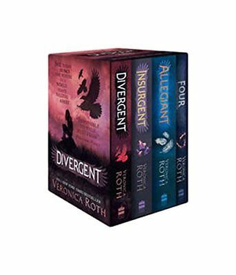 Divergent Series Boxed Set Books 1-4 Veronica Roth Brand New 9780008175504