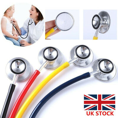 Medical EMT Littmann Cardiology Stethoscope Echometer Dual Head Doctor Nurse Vet