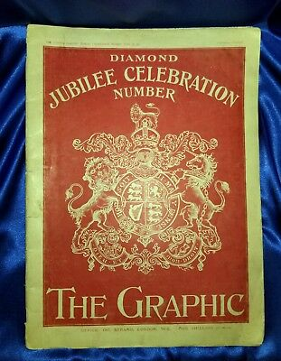 The Graphic - Diamond Jubilee Celebration Number, June 28, 1897 periodical