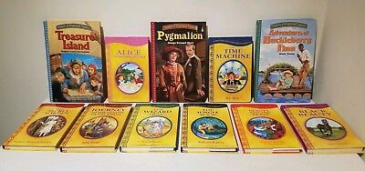 Lot of 11 TREASURY of ILLUSTRATED CLASSICS Childrens Series Hardcover Books