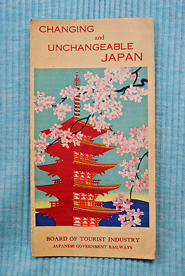 Changing and Unchangeable Japan - Board of Tourist Industry - 1937