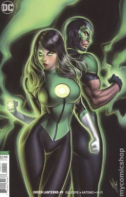 Green Lanterns #49 Warren Louw Variant (2018) DC Comics