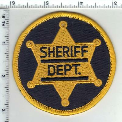 Generic Sheriff (Tennessee) Shoulder Patch - new from the 1980's