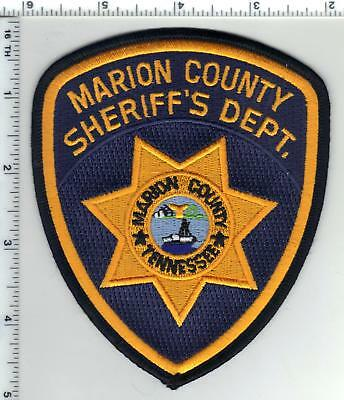 Marion County Sheriff (Tennessee) Shoulder Patch - new from the Early 1990's