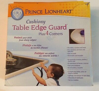 Prince Lionheart Cushiony Table Edge Guard Baby Protection