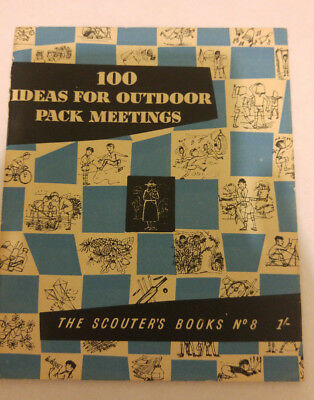 Scout Association London 100 Ideas for Outdoor Pack Meeting Scouter Book no 8