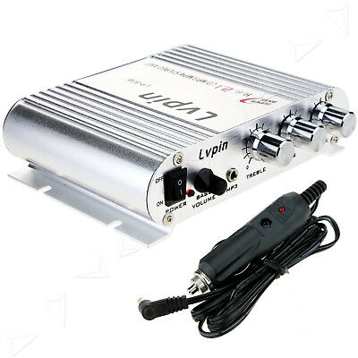 Lepy Lepai LP-838 Super Bass Hi-Fi 2.1 Stereo Amplifier For AMP PC Car Home