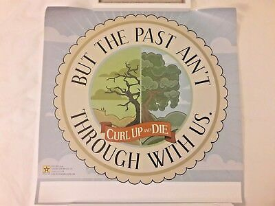 Curl Up And Die - RARE But The Past Ain't Poster* Botch Poison The Well Coalesce