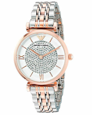 Emporio Armani Watch Rose Gold Stainless Steel Women s Watches AR1926 87faa249b760