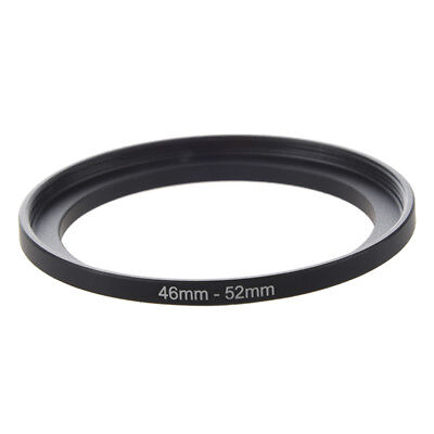 Camera Repairing 46mm to 52mm Metal Step Up Filter Ring Adapter Z9O2
