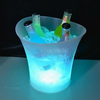 IP65 LED Light Lamp ICE Bucket Curve Design Automatic Color Changing 5L H8W8