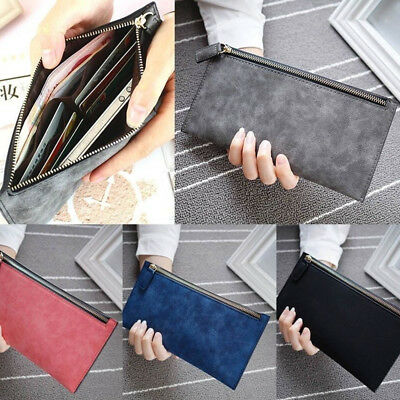 Fashion Long Handbag Women Lady Leather Wallet Bag Phone Card Holder Coin Purse
