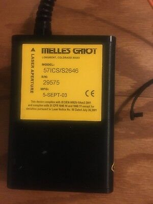 Melles Griot S2646/57ICS High-Performance Diode Laser Light Source Assembly ASIS