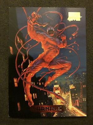 Marvel Masterpieces Fleer 1994 Card #20 Carnage