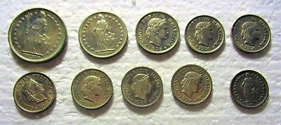Small Cache Of Swiss Coins