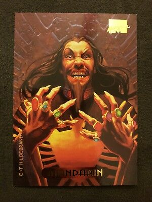 Marvel Masterpieces Fleer 1994 Card #71 Mandarin
