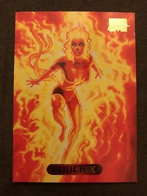 Marvel Masterpieces Fleer 1994 Card #89 Phoenix