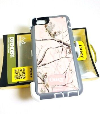 Otterbox Defender Series Case&Clip For Apple iPhone 6 iPhone 6S REALTREE AP PINK