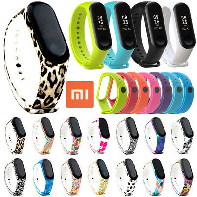 For Xiaomi MI Band 3 Wrist Band Strap Replacement Bracelet Watch Silicone Rubber