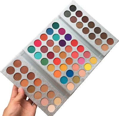 Beauty Glazed Eyeshadow Palette 63 Colors Matte Eye Shadow Pearl Pigment Km01