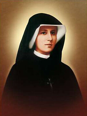 Saint Maria Faustyna Kowalska of the Blessed Sacrament Catholic Christian Icon